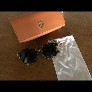 Tory Burch Panama Polarized Sunglasses